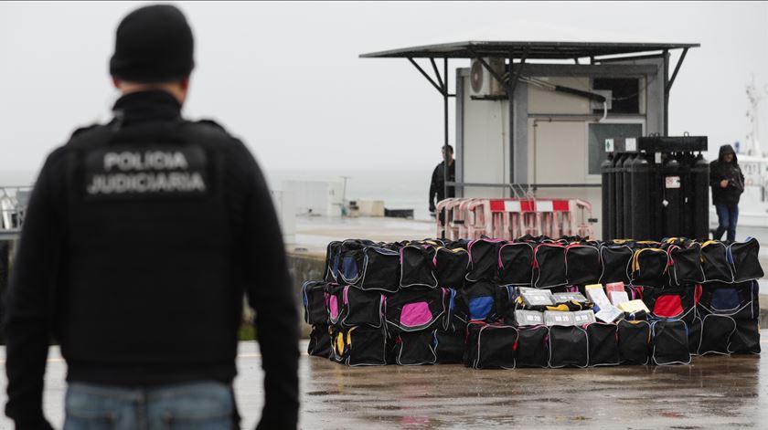 Veleiro intercetado ao largo de Portugal com 1.820 kg de cocaína