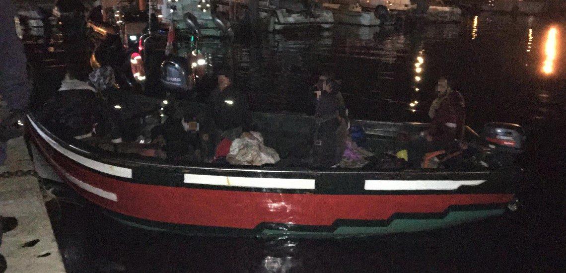 Onze jovens marroquinos interceptados pela Polícia Marítima em Olhão