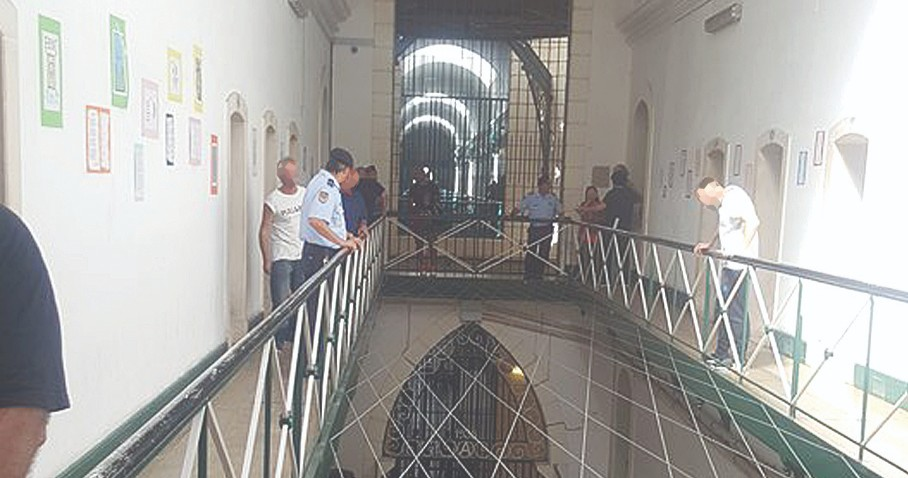 Detida por tentar introduzir heroína na Prisão de Coimbra