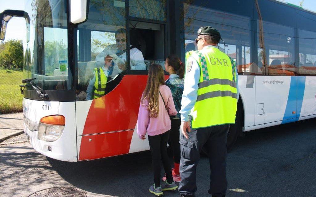 Ação de sensibilização sobre segurança rodoviária em Cantanhede