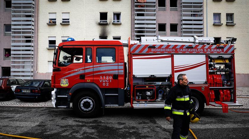 Quatro feridos graves em incêndio em lar de idosos de Abrantes