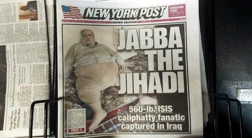 Levado em camião. Detido dirigente do Estado Islâmico com 254 quilos