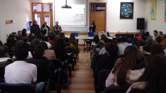 Parlamento dos Jovens, Violência doméstica e no namoro em debate nas escolas