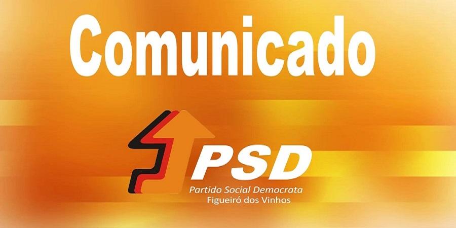 Comunicado do PSD de Figueiró dos Vinhos – Jan. 2020