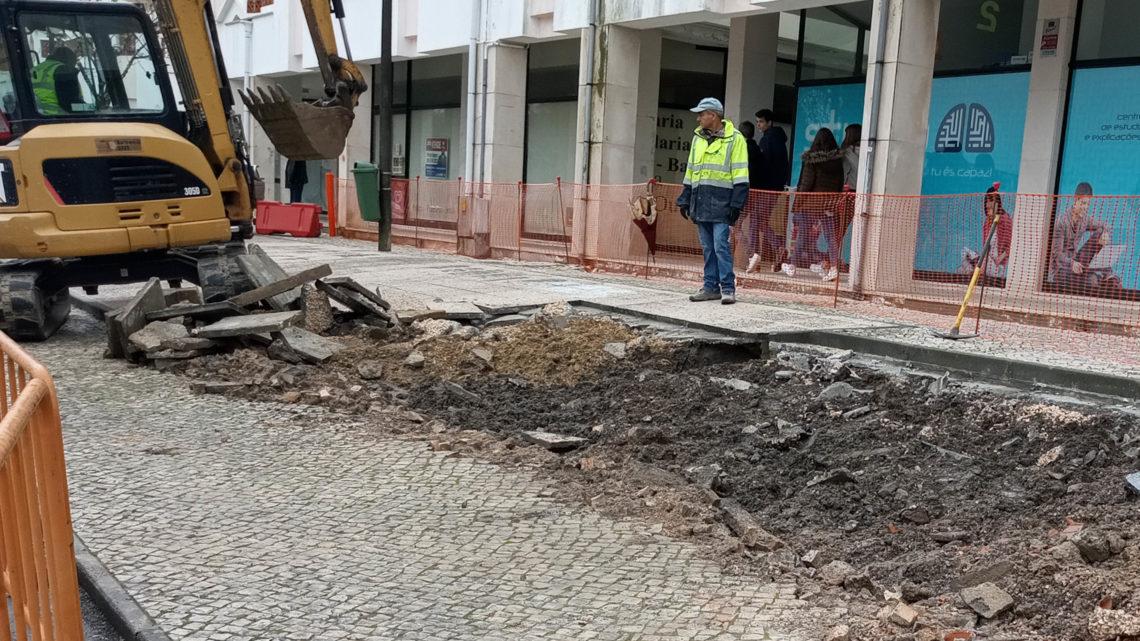 Último troço da Rede Ciclável Urbana de Cantanhede está em construção