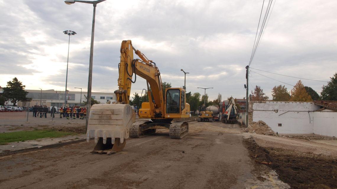 Cantanhede ganha nova via estruturante com a ligação do recinto da feira à Rua dos Bombeiros Voluntários
