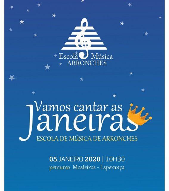 Arronches | GRUPO DA ESCOLA DE MUSICA CANTA JANEIRAS NO DOMINGO