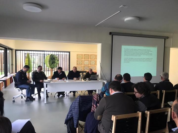 COMISSÃO DISTRITAL DE DEFESA DA FLORESTA DE LISBOA REUNIU-SE EM TORRES VEDRAS