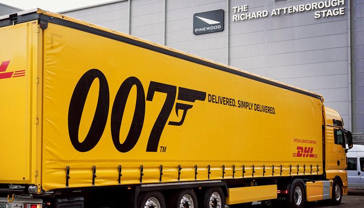 México | Licencia Para Entregar: DHL Al Servicio De La 25ª Película De James Bond, Titulada 'No Time To Die'