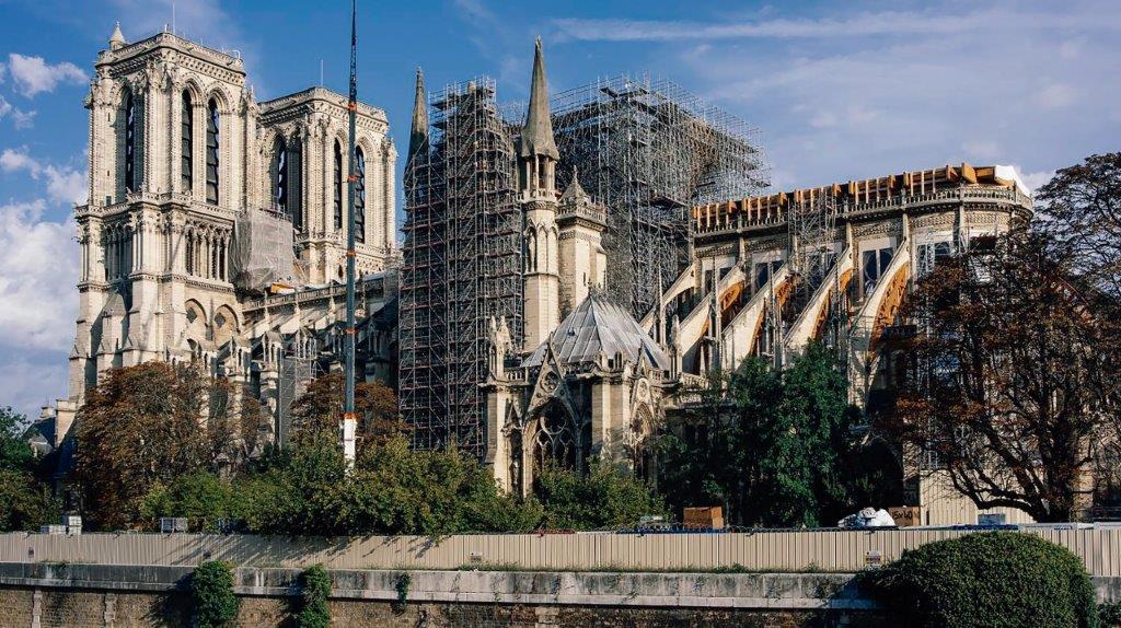 Catedral de Notre-Dame — Reconstrução tal como ela era