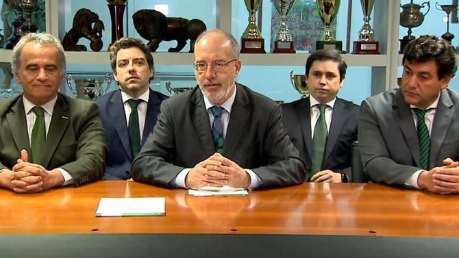 Sporting não vai convocar assembleia geral destitutiva