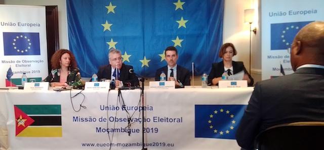 """Moçambique   Eleições Gerais de 2019 """"só vão terminar quando houver uma sentença"""" do caso Matavel, diz chefe da Missão de Observação da UE"""