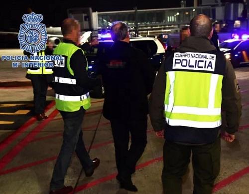 """Autor do """"massacre de Atocha"""" apanhado no Brasil dá entrada na prisão em Madrid"""