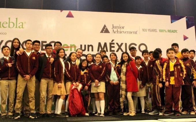 México | Provident Y Junior Achievement Impulsan El Programa Emprendedores Y Empresarios En Puebla