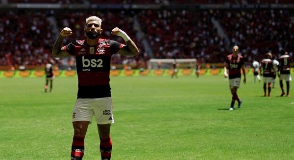 Flamengo, de Jorge Jesus, conquista a Supertaça do Brasil