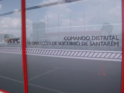 Comando da Força Especial de Proteção Civil concentrado em Almeirim, distrito de Santarém