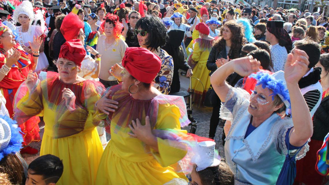 Mais de 600 figurantes no Carnaval da Vieira 2020