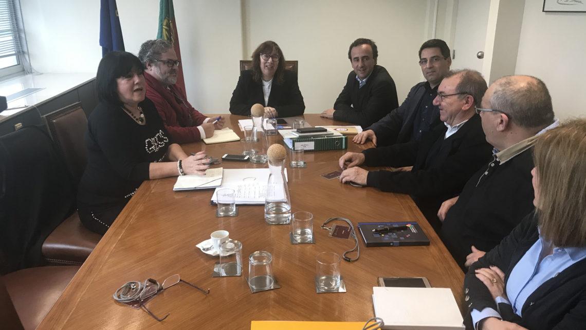 Em reunião com a Secretária de Estado, Susana Amador