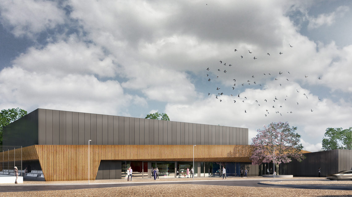 Primeiro Pavilhão Desportivo Inclusivo do país começou a ser construído em Leiria
