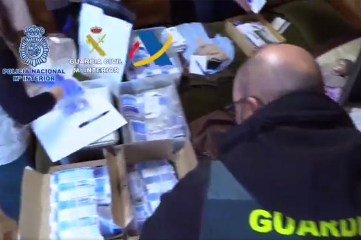 Um português entre 47 detidos em Espanha por tráfico de medicamentos