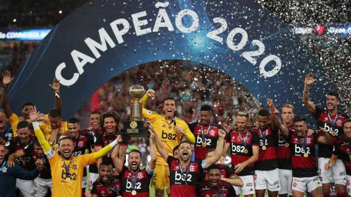 Flamengo, de Jorge Jesus, conquista Supertaça sul-americana