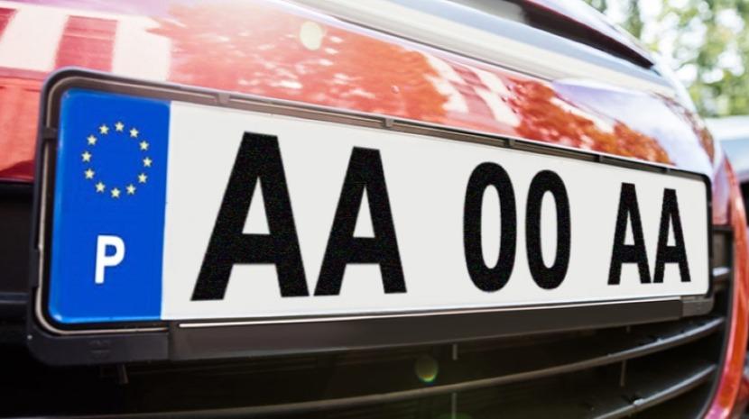 Emitida a primeira matrícula do novo modelo AA-00-AA
