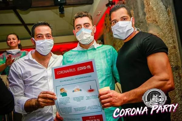 """Hospital diz a donos de bar que os tratará """"apesar da ofensa"""" que foi a """"Corona Party"""""""