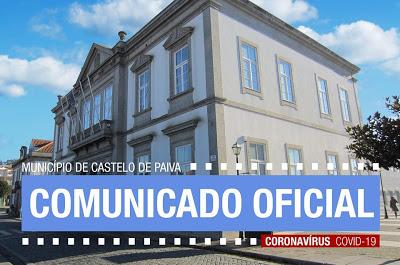 Castelo de Paiva | Para evitar a propagação do COVID-19
