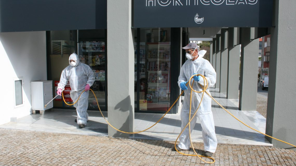 Desinfeção de espaços públicos já começou em Proença-a-Nova