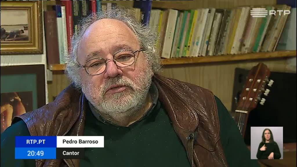 CULTURA   Cantor Pedro Barroso morre de doença prolongada