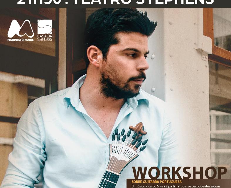 Workshop de guitarra portuguesa no Teatro Stephens