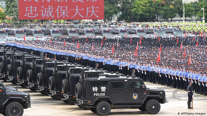 A Grande encenação chinesa