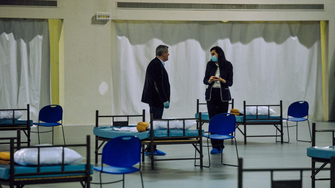 Caldas da Rainha   -19: Caldas monta dois hospitais de campanha como prevenção