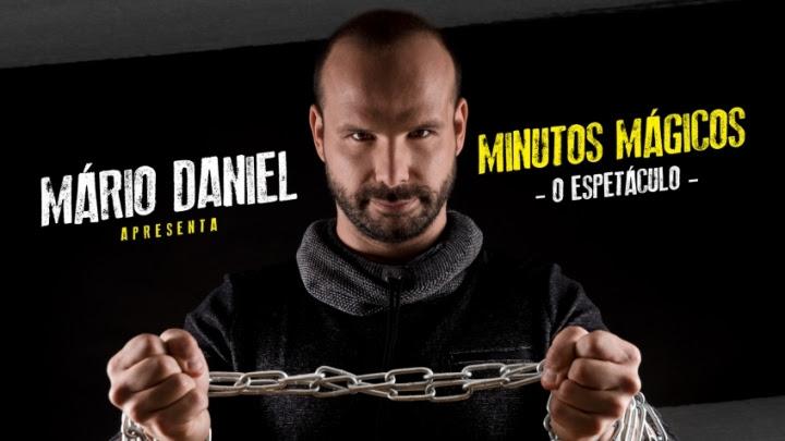 """MÁRIO DANIEL TRAZ """"MINUTOS MÁGICOS"""" A TORRES VEDRAS"""