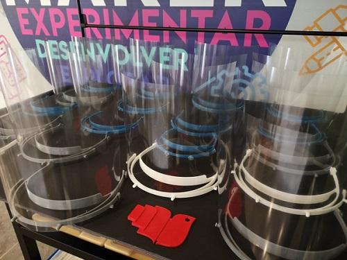 Dóing Pombal e Comunidade Maker de Pombal produzem viseiras para profissionais da saúde e do setor social