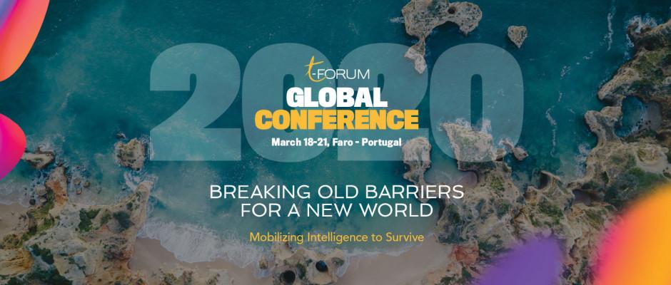 A 3ª edição da conferência global t-Forum será realizada no Algarve