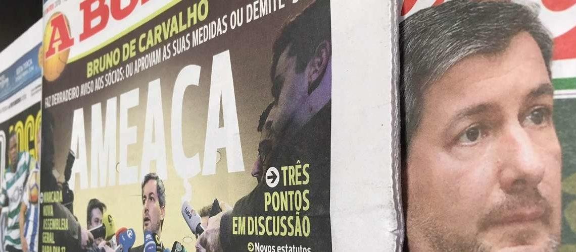 Jornal 'A Bola' coloca jornalistas em 'lay-off'