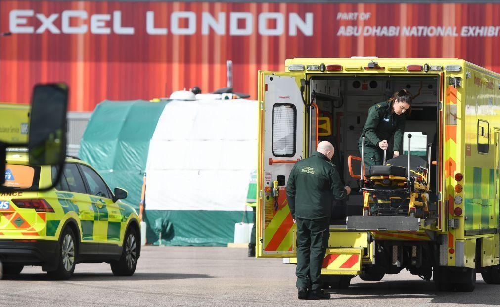 Covid-19: Reino Unido regista 684 mortes em 24 horas