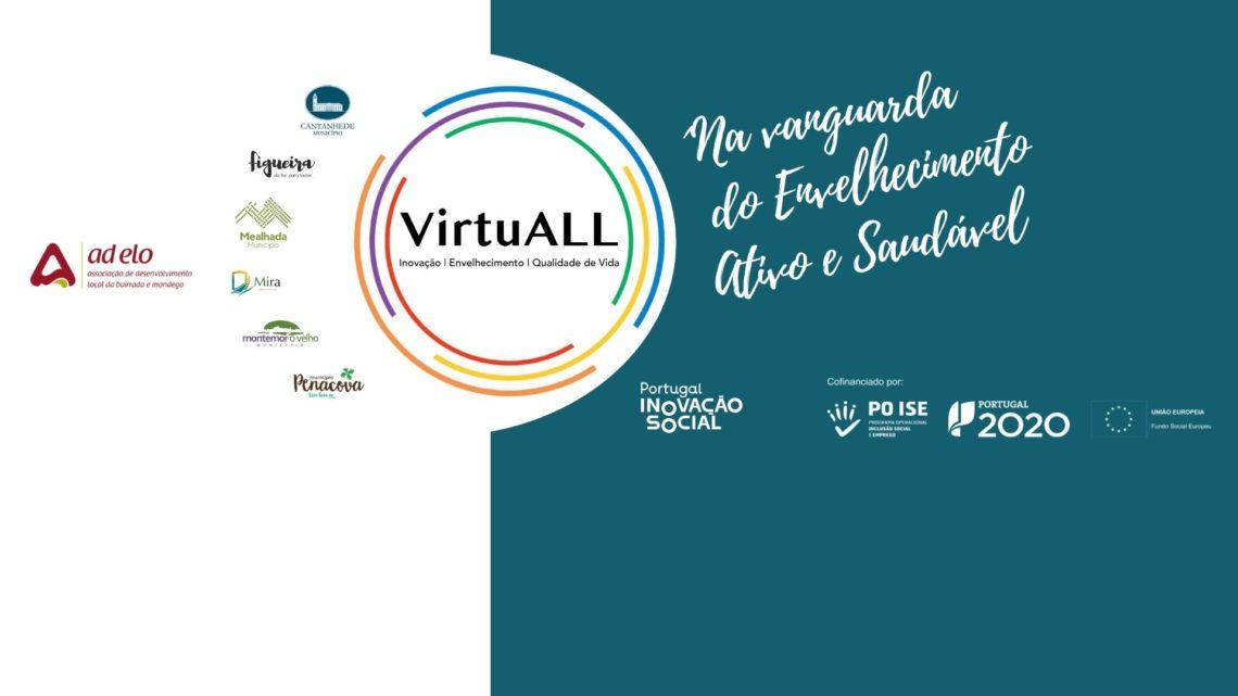 """Em seis Concelhos o """"VirtuALL"""" chega aos seniores … virtualmente!"""