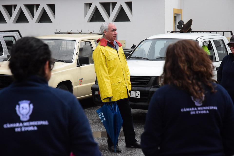 Évora | Covid-19: Presidente da CME enaltece trabalho dos funcionários da Higiene
