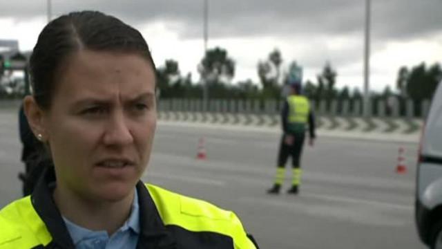 """Acatamento das regras de circulação é """"praticamente total"""" em Coimbra, diz a GNR"""