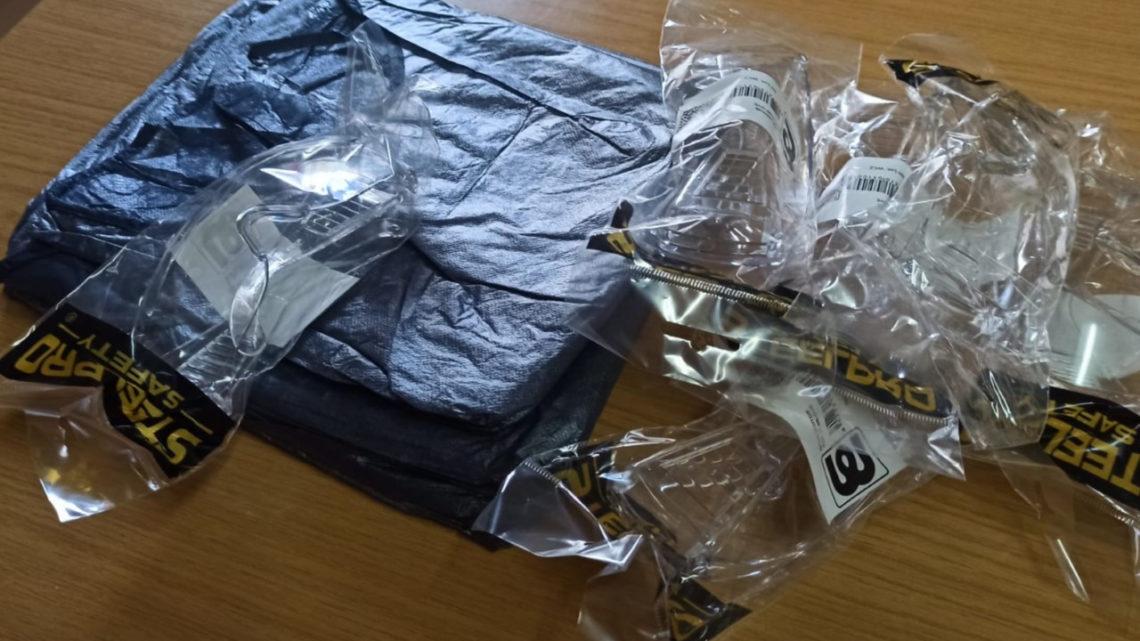 COVID-19: Proteção Civil distribui novos Equipamentos de Proteção Individual aos Bombeiros