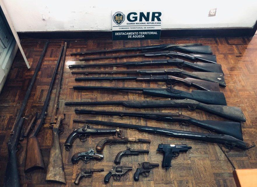 Homem detido em Águeda a ameaçar vizinhos com caçadeira