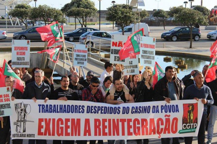 TRABALHO RENDIMENTOS: Trabalhadores dos casinos penalizados duplamente pelo lay-off