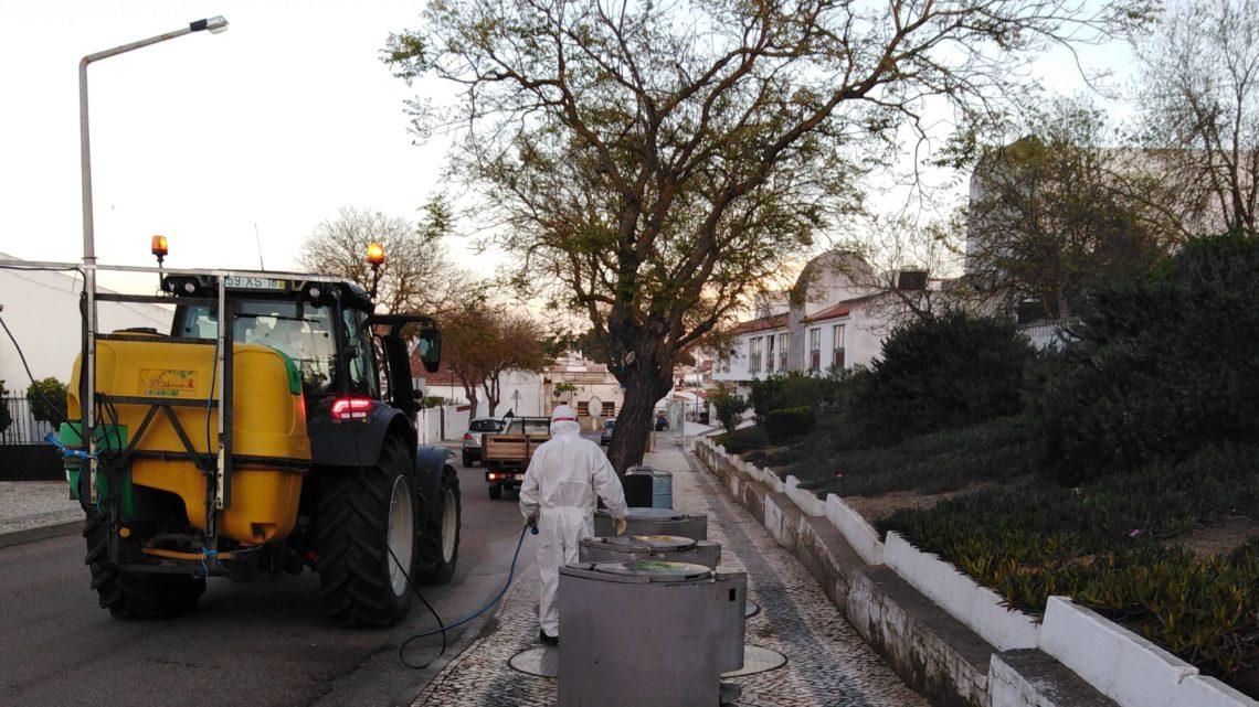 Serpa | Desinfeções continuam pelo concelho