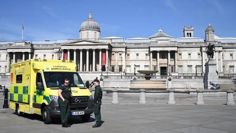 Covid-19: Mais 761 mortos no Reino Unido fazem total subir para 12.868