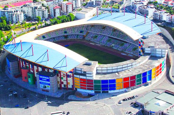 Topo Norte do Estádio de Leiria transformado em centro de atração de investimento na área tecnológica