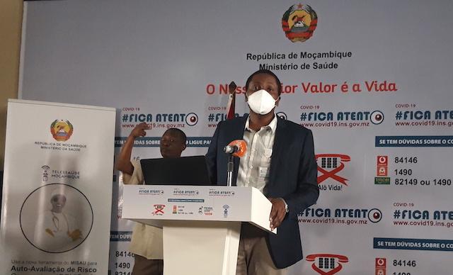 Propagação da covid-19 aparentemente quebrada na Cidade e Província de Maputo