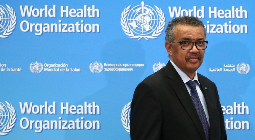 Diretor-geral da OMS agradece contribuição de 500 mil euros de Portugal