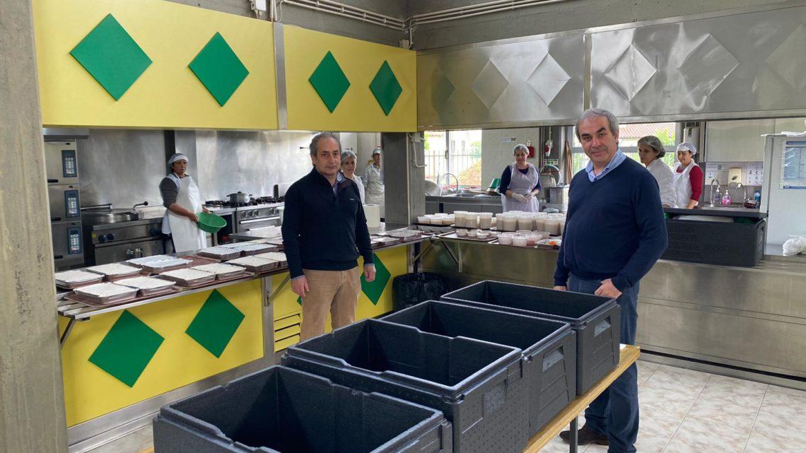 Valongo do Vouga mantém fornececimento de refeições a alunos